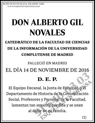 Alberto Gil Novales